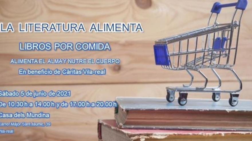 Organizan una cita literaria a favor de Cáritas de Vila-real