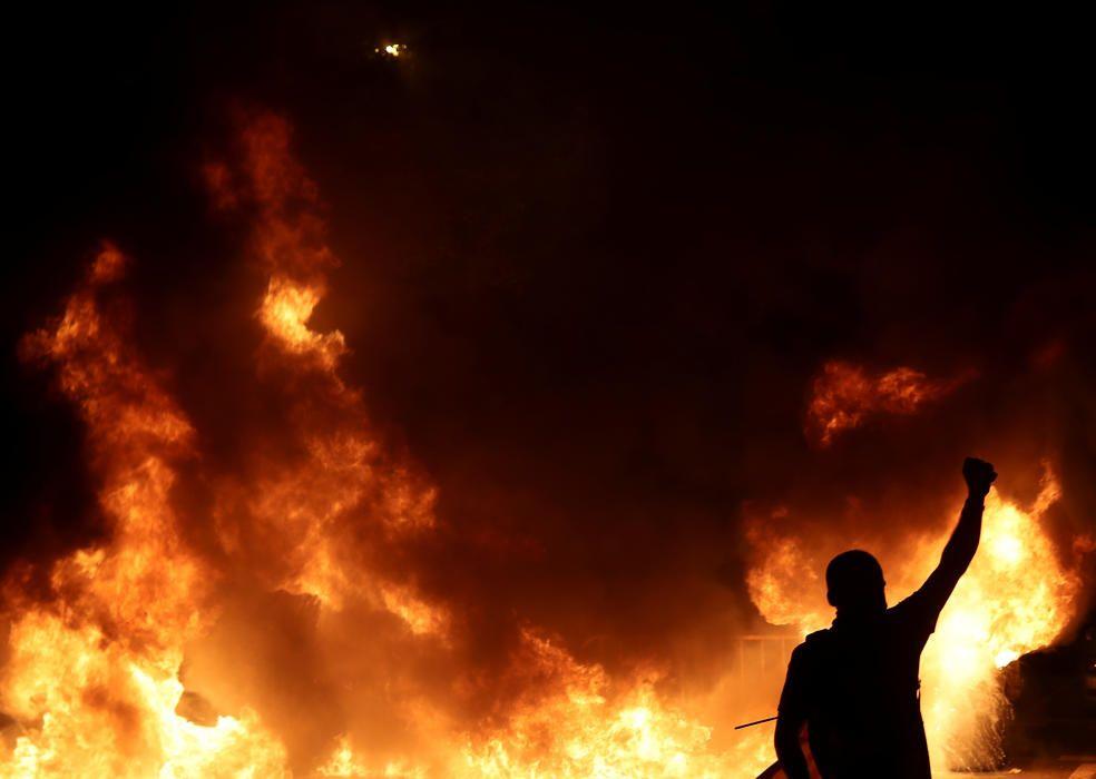 Disturbios en Barcelona tras la marcha de los CDR