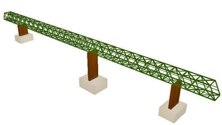 Una pasarela blindará  el colector que destruyó             la DANA en Ontinyent