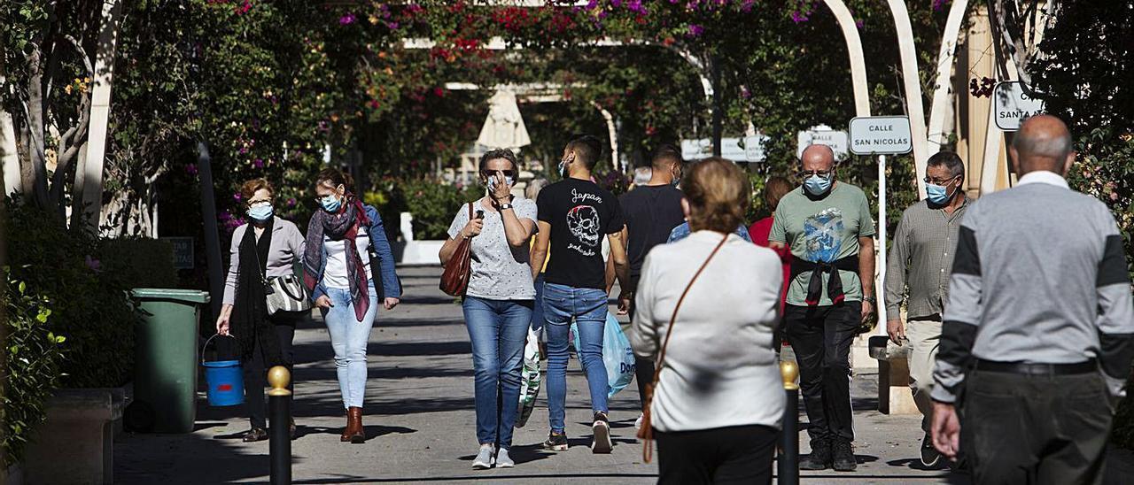 El público está adelantando sus visitas. Imagen de ayer en Alicante.