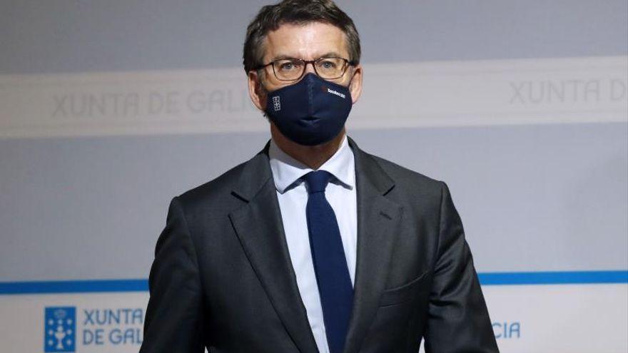 Feijóo pide que el uso de las mascarillas FPP2 sea obligatorio