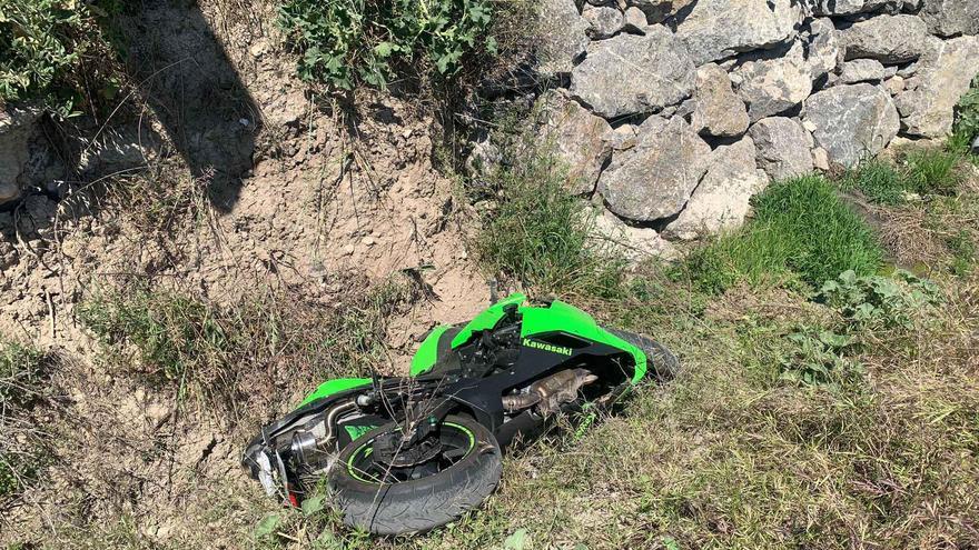 Herido un motociclista al sufrir una colisión con una furgoneta en Cabra
