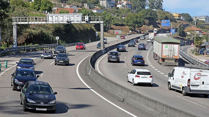La autovía con Porriño hace caja: suma dos de los 50 radares que más sancionan en España