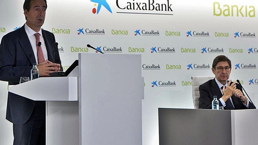 Las juntas de Bankia y CaixaBank aprobarán su fusión el 1 y 3 de diciembre