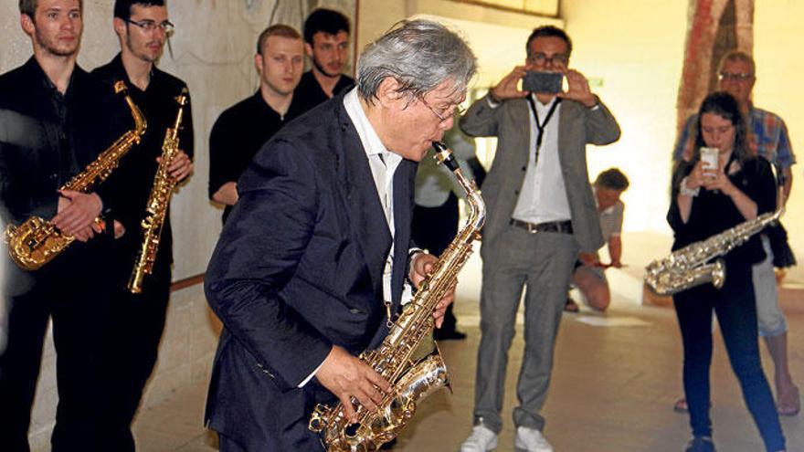 Ein Monat Saxofon auf Mallorca