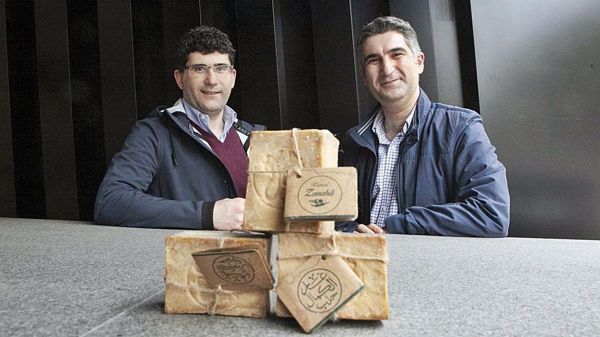 Taher (izquierda) y Amer Zanabili