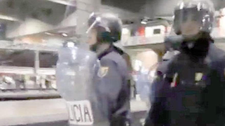 Archivado el expediente policial sobre los antidisturbios del 25S