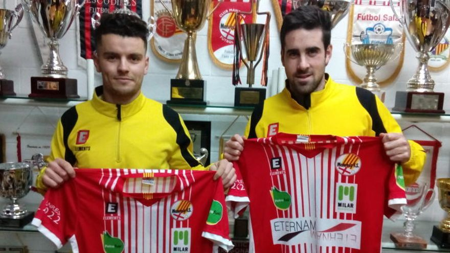 El Manresa FS fitxa dos nous reforços, Fouad i Santa