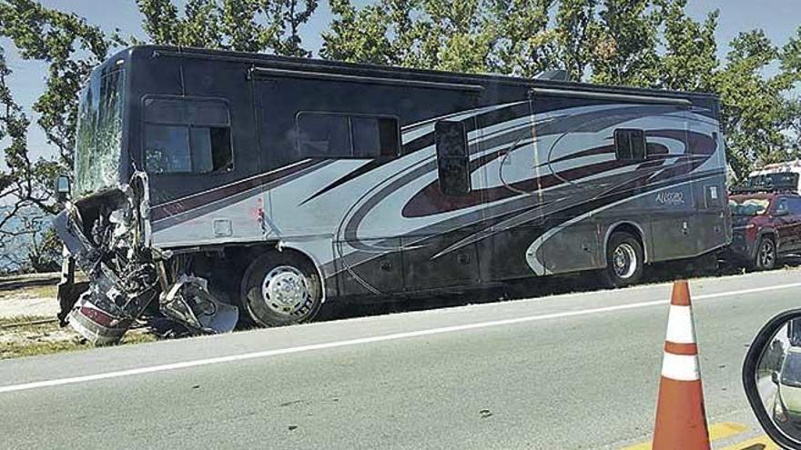 """El conductor que mató a cuatro mallorquinas en Florida tenía un historial de multas de tráfico y """"no era competente"""""""
