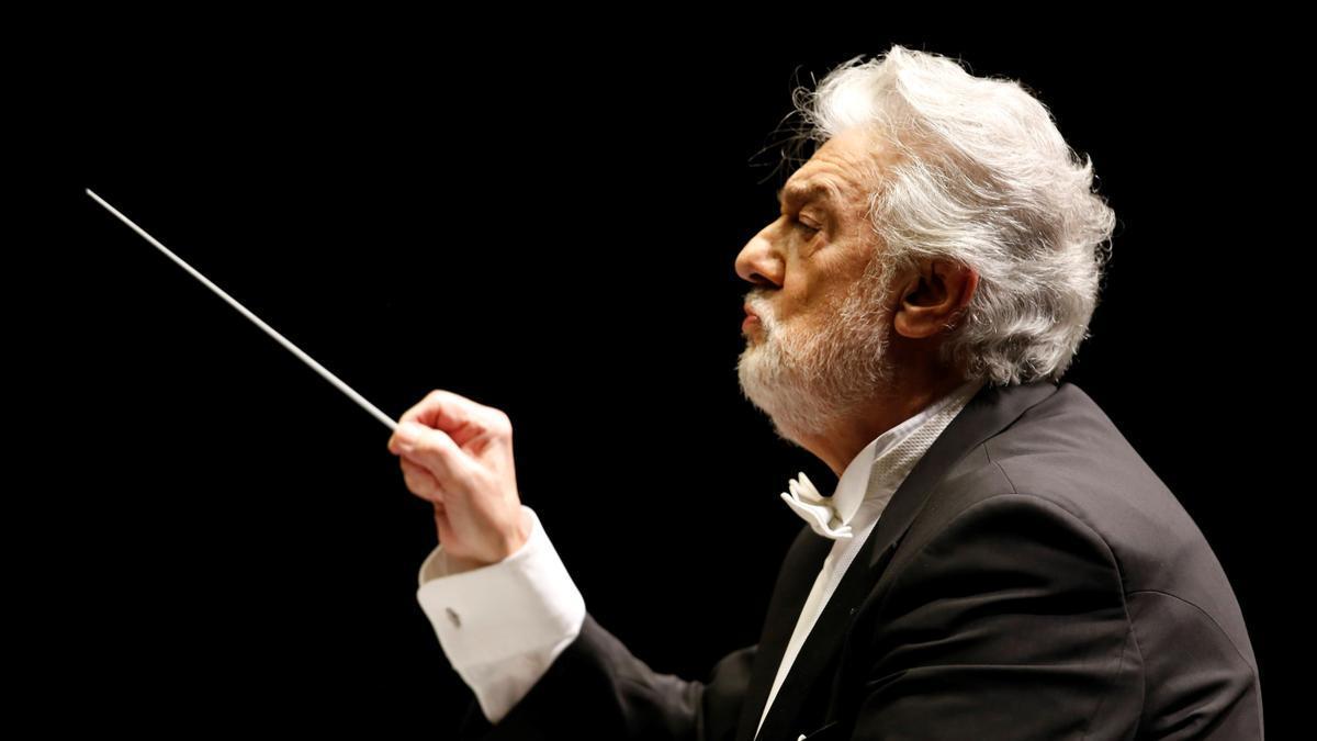 El tenor y director Plácido Domingo.