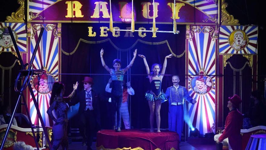 El Circ Raluy Legacy ofereix una funció virtual el diumenge a la tarda des de Girona