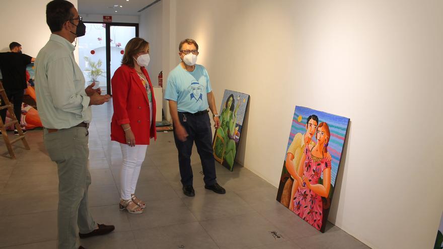 El artista Luis Bolumar presentará sus trabajos en Benicàssim