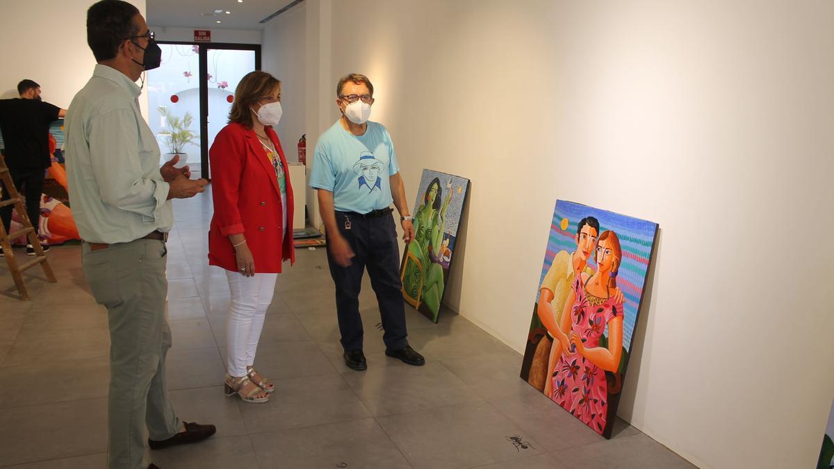 El artista Bolumar presentará sus trabajos en Benicàssim