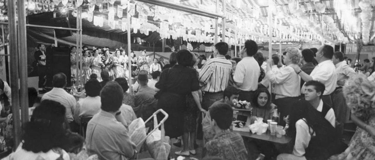 1994: Primera Feria en El Arenal