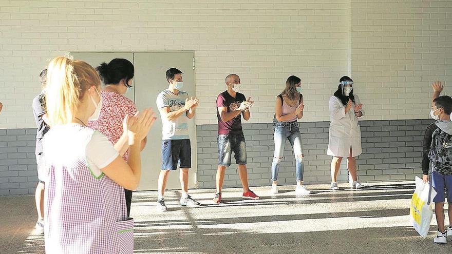 El alumnado de Quart inicia el curso un día después por la fiesta de San Onofre