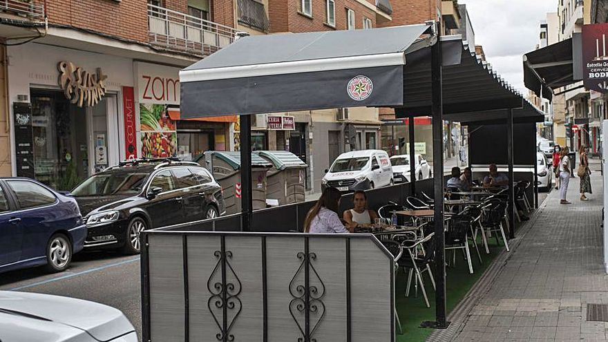 El Ayuntamiento de Zamora permite las terrazas en zona azul hasta el 31 de diciembre
