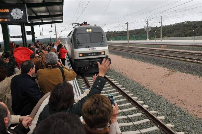 La alta velocidad llega a Los Pedroches