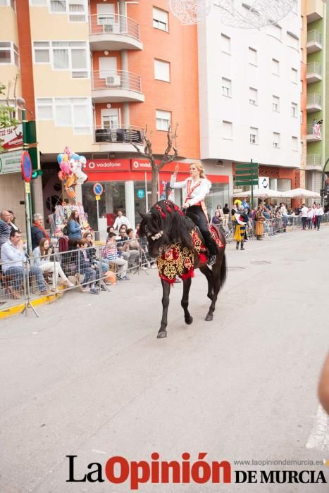 Desfile día cuatro (Bando Caballos del Vino)