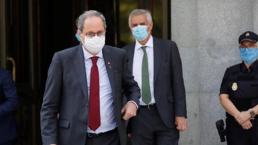 El Constitucional vuelve a pronunciarse en contra de suspender a Torra