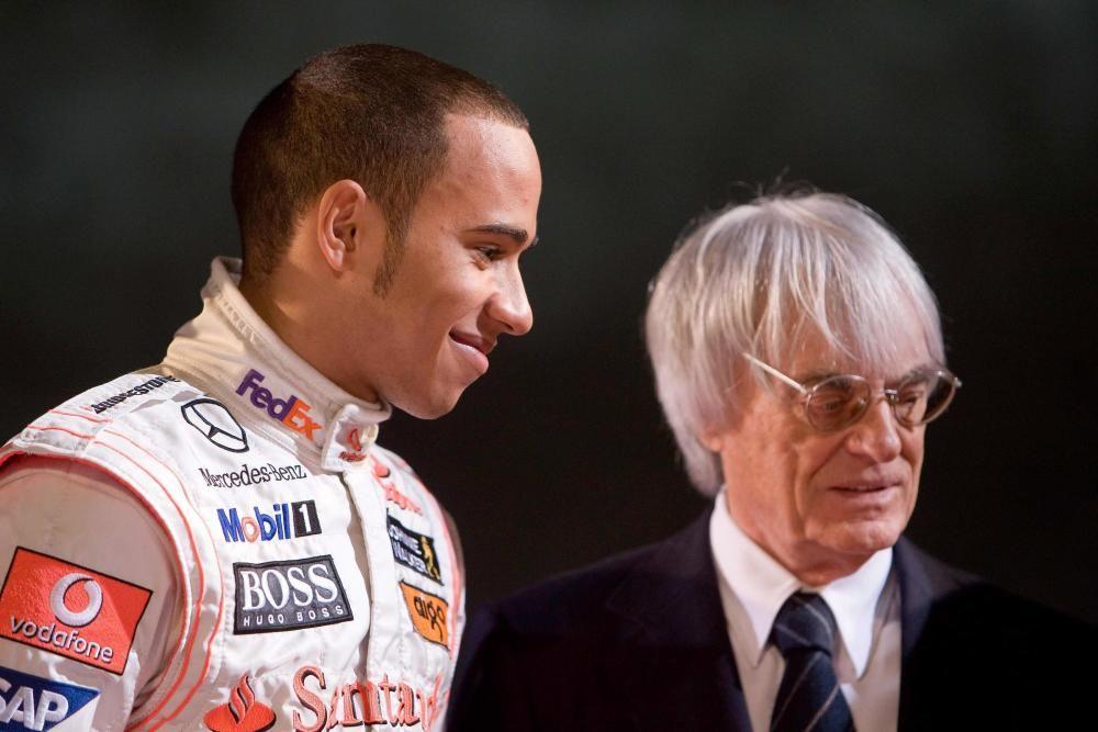 McLaren Formula 1 driver Lewis Hamilton of ...