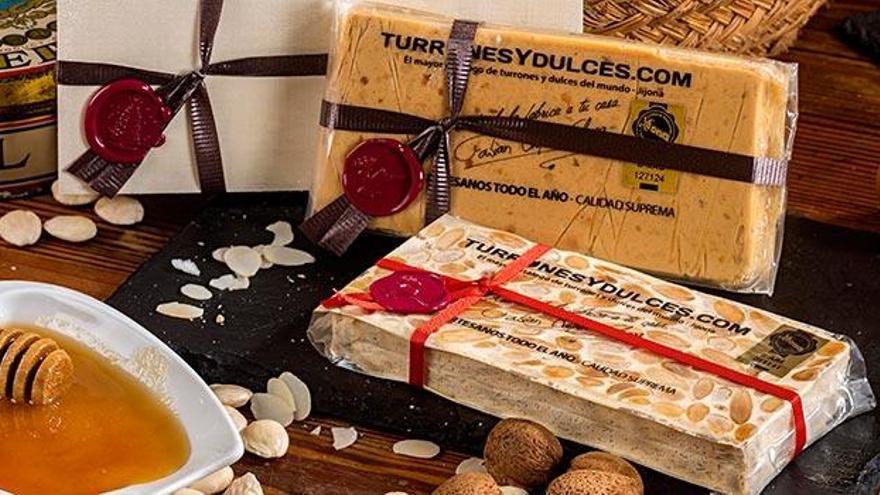 El turrón alicantino puede ser el regalo perfecto gracias a esta tienda online de Jijona