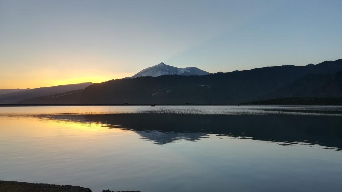 Balsa de Montaña de Taco, en Buenavista del Norte.