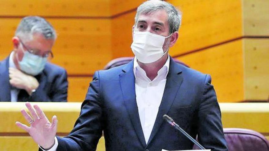 Sánchez defiende su política en Canarias sin hablar ni una palabra de inmigración