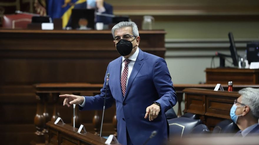 Román Rodríguez garantiza la total ejecución de los 630 millones del 'ReactEU'