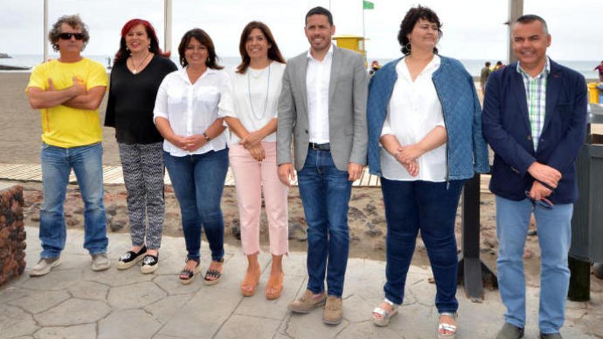 El alcalde destituye a su esposa como asesora para garantizar el pacto en Telde