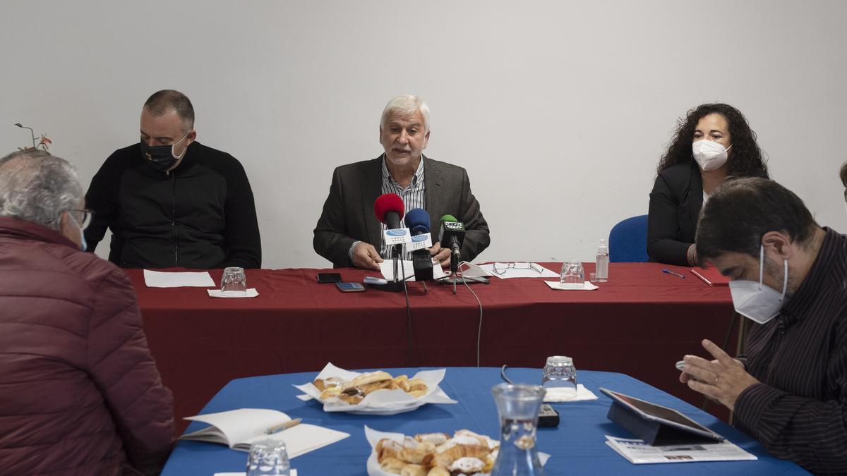 Desayuno informativo de Navidad 2020 con el alcalde de Altea y los portavoces de Compromís y el PSOE