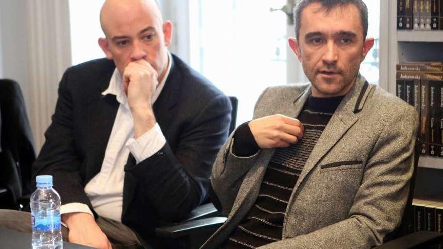 """José Morella recoge en Madrid el premio """"Café Gijón"""" por su obra """"West End"""""""