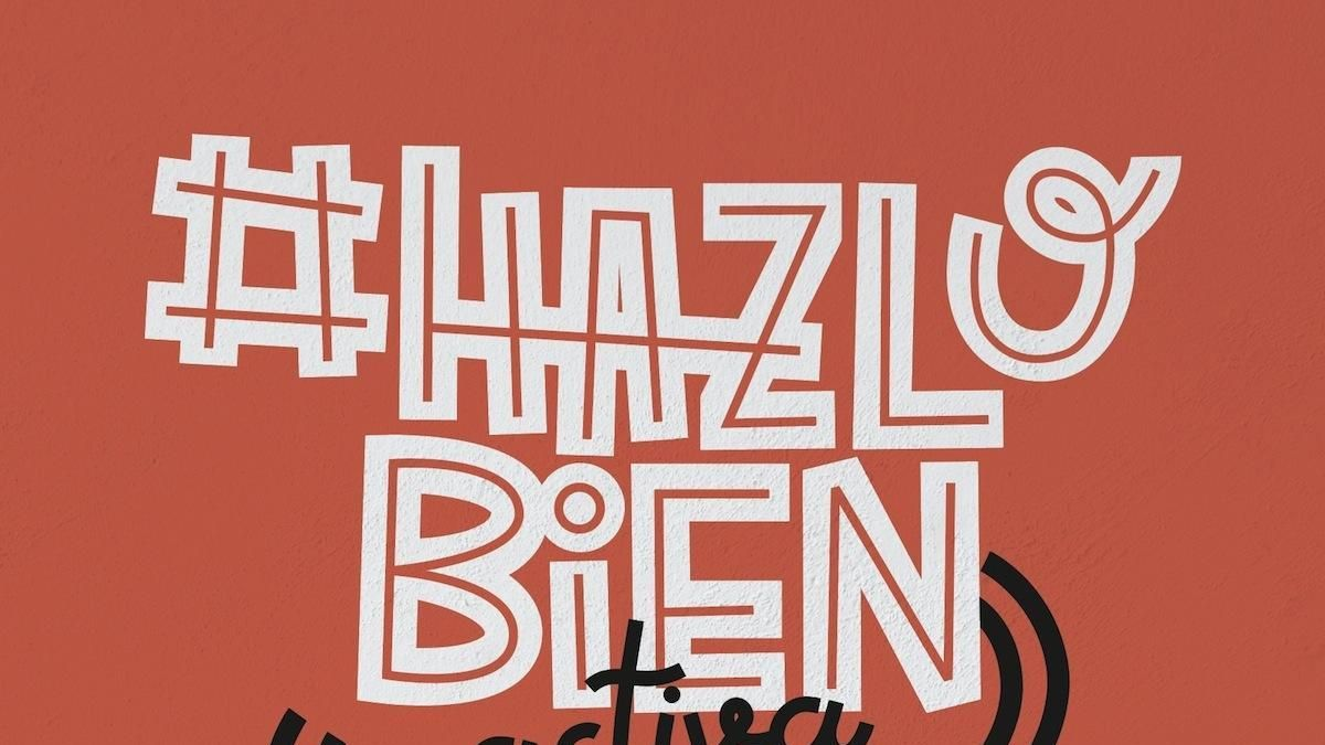 Cartel de la campaña municipal ' Hazlo bien, activa Radar Covid'.