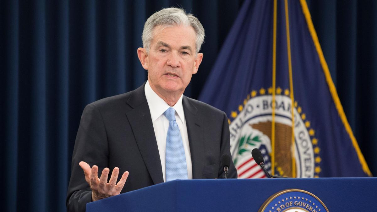 El presidente de la Reserva Federal estadounidense, Jerome Powell.