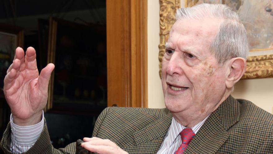 Fallece a los 94 años en Madrid Alfonso Osorio, vicepresidente de Suárez
