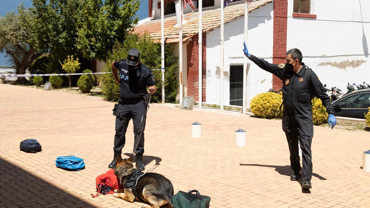 Nueva Unidad Canina en Cehegín
