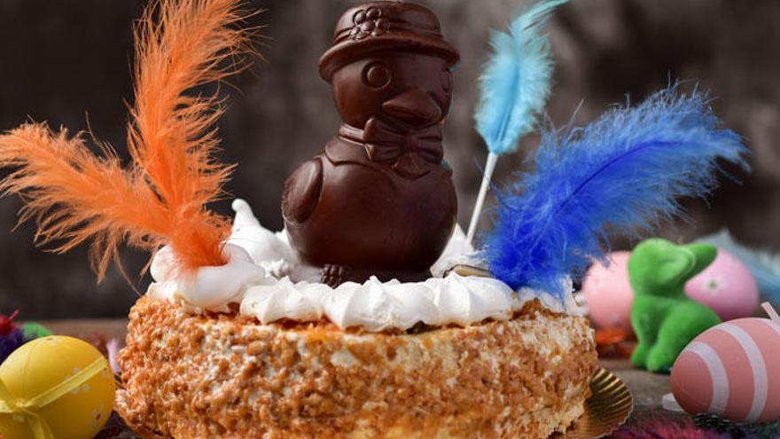 Cómo hacer una mona de Pascua de chocolate casera