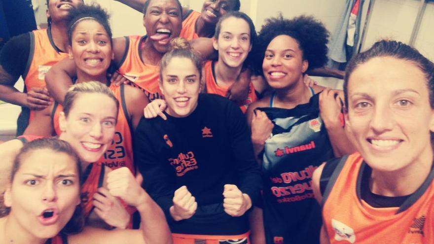 Primer triunfo del Valencia Basket femenino