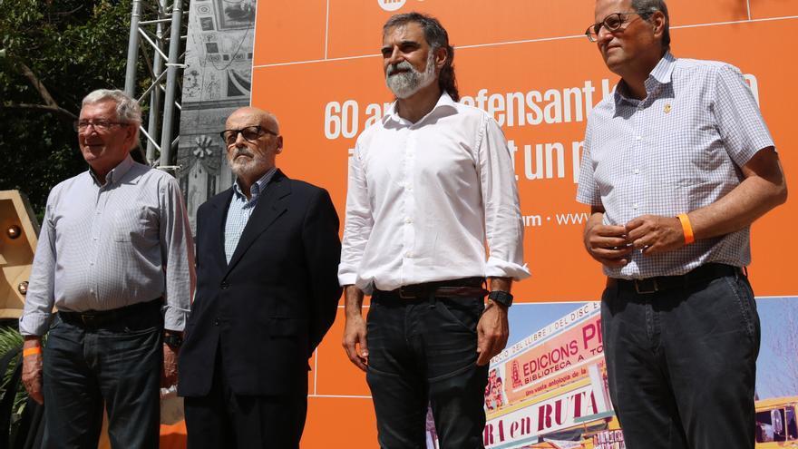 """Òmnium reunirà """"exili i presó"""" en la celebració dels seus 60 anys a Elna"""
