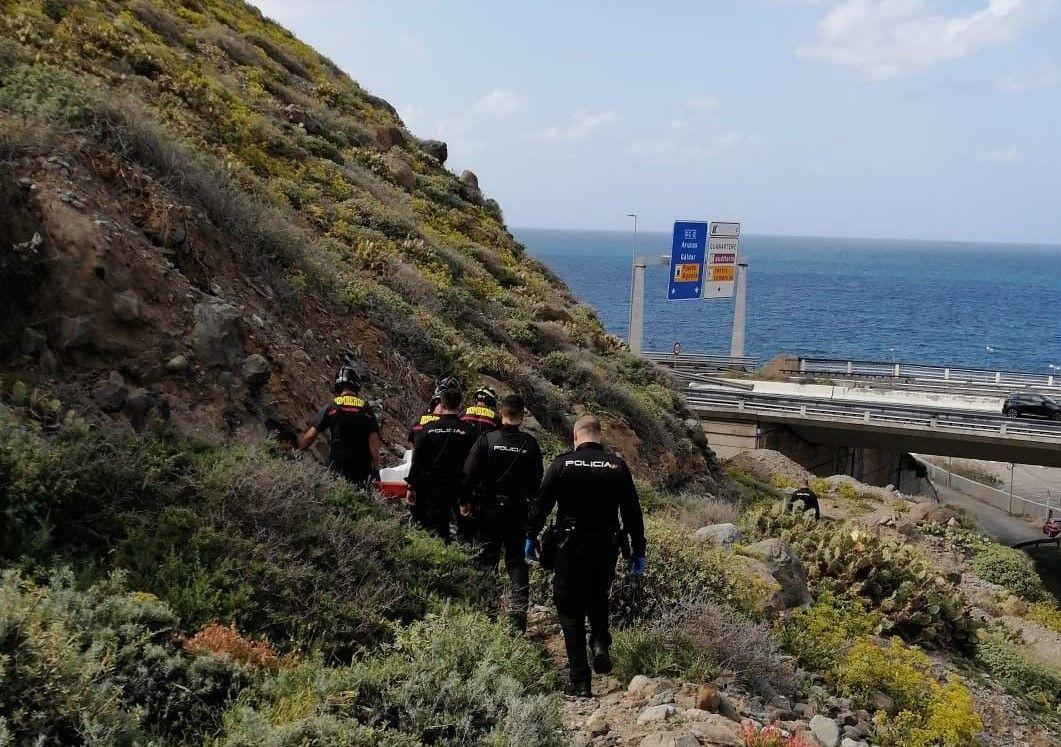 Rescatan el cuerpo sin vida de un hombre en El Rincón