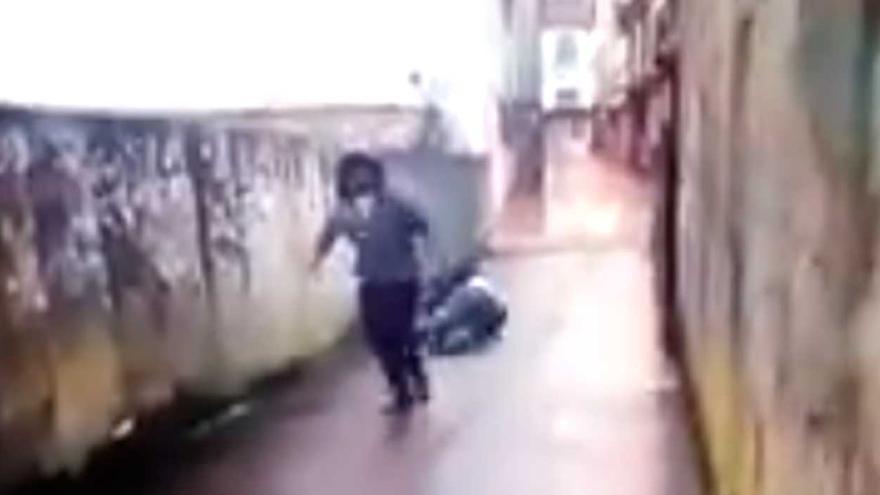 La Guardia Civil investiga la agresión a un indigente en O Grove