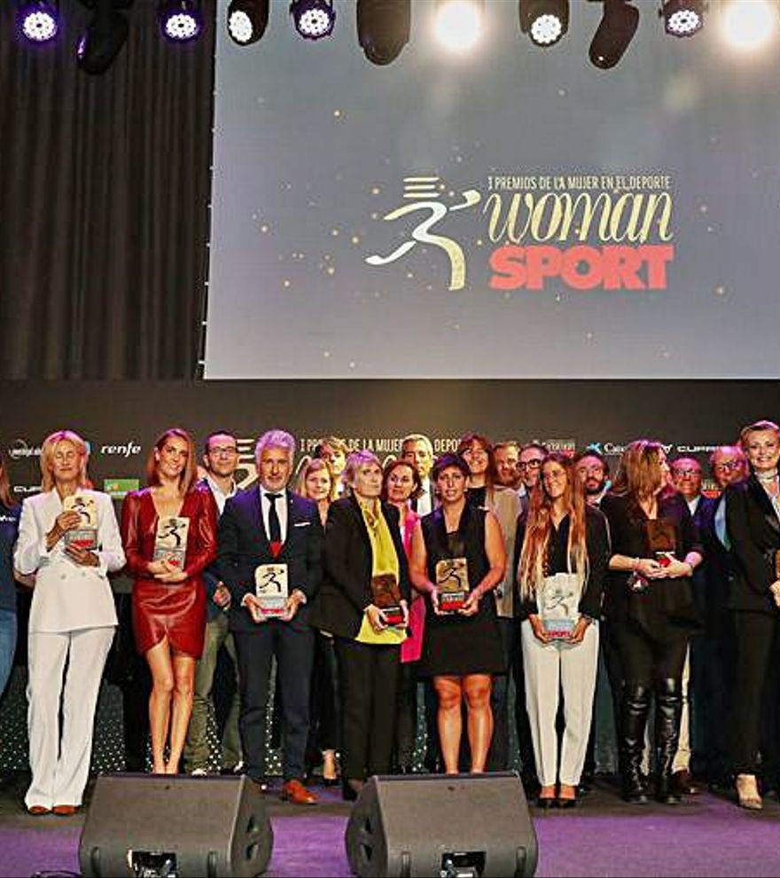 Woman i Sport donen els Premis de la Dona en l'Esport