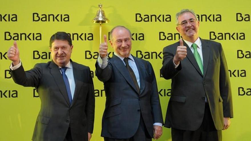La fiscalía eleva a 5 años la petición de cárcel para Olivas por el caso Bankia