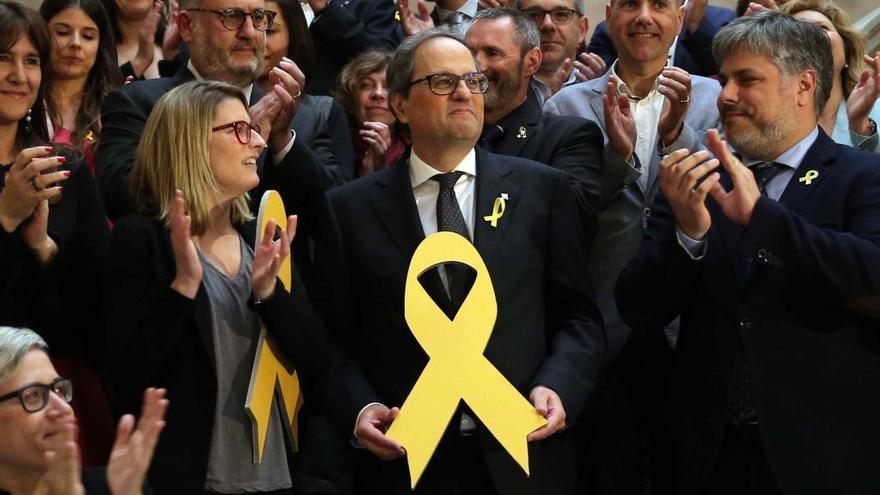 Quim Torra, investit nou president de la Generalitat