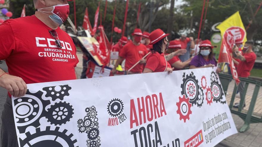 Los trabajadores vuelven a las calles este Primero de Mayo