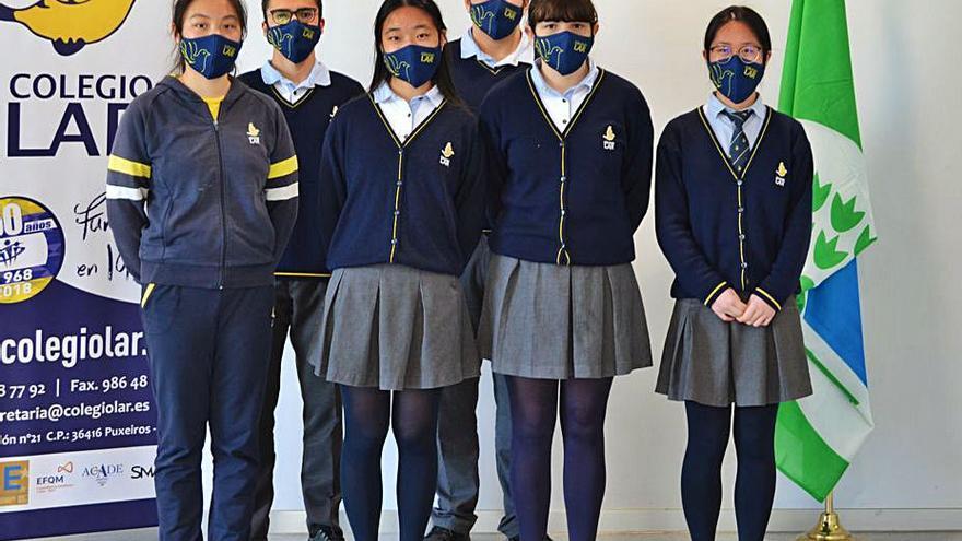 Seis estudiantes del Colegio Lar logran dos premios de periodismo ambiental