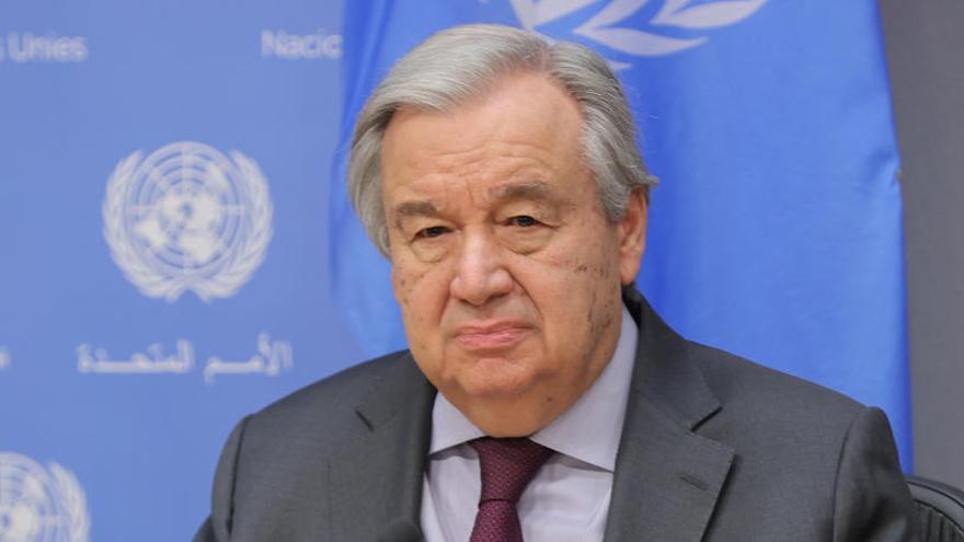 L'ONU demana un alto el foc mundial pel coronavirus