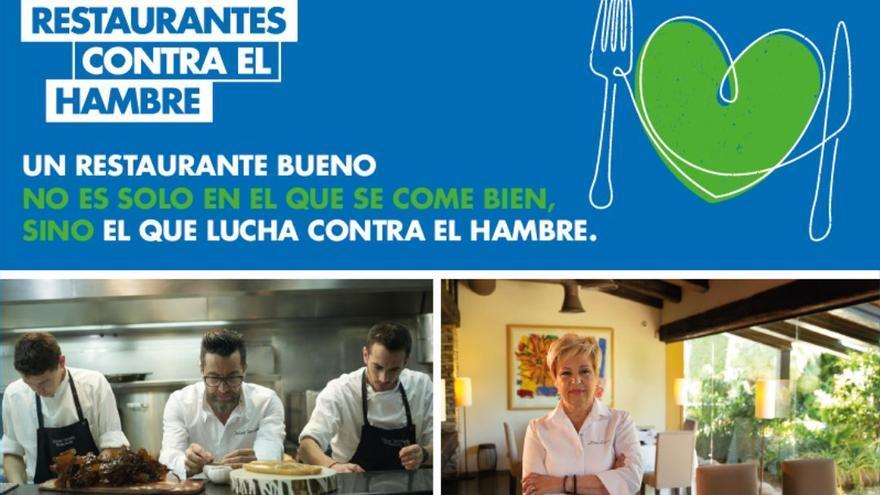 Dos restaurantes de Mallorca se unen a la campaña de Acción contra el Hambre