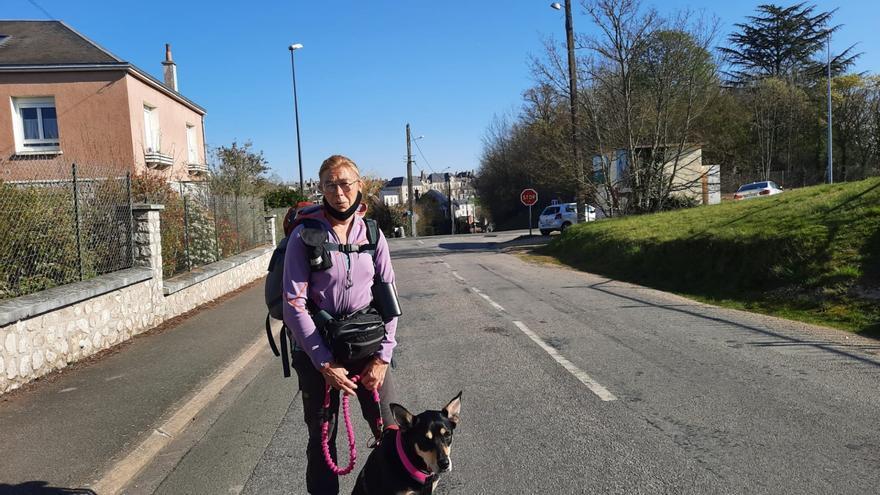 Annie y Dax, a solo 200 kilómetros de Estivella