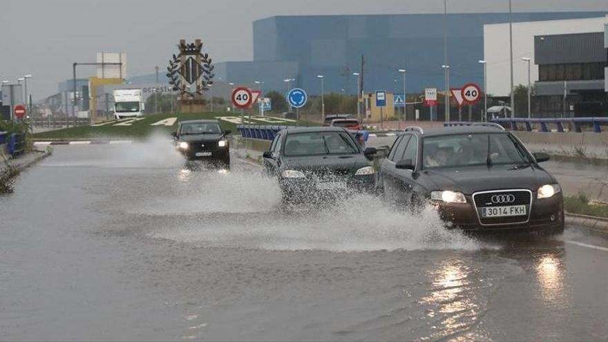 Castelló vive el día más lluvioso en diciembre del último siglo