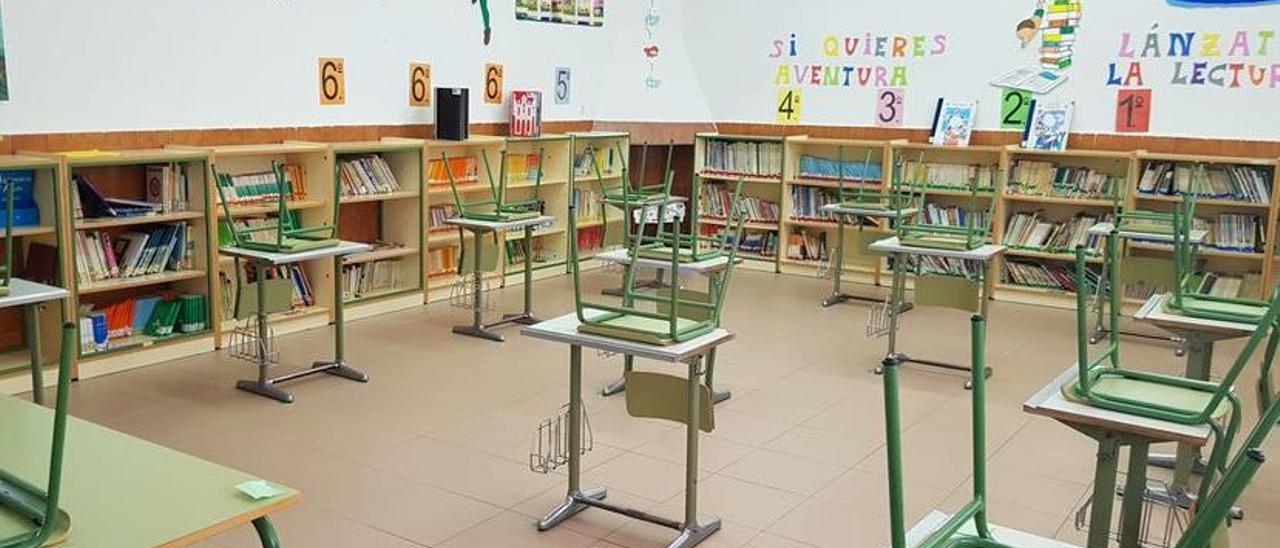 Aula de un colegio. // FdV